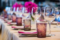 Tischdekoration-pink-dunkel-M