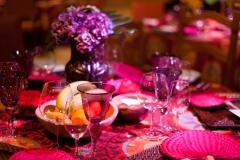 Tischdekoration-pink-lila-M